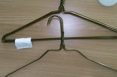 china metal wire hangers