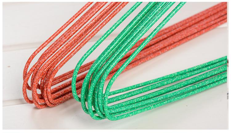 Colored PVC Coated Wire Hangers