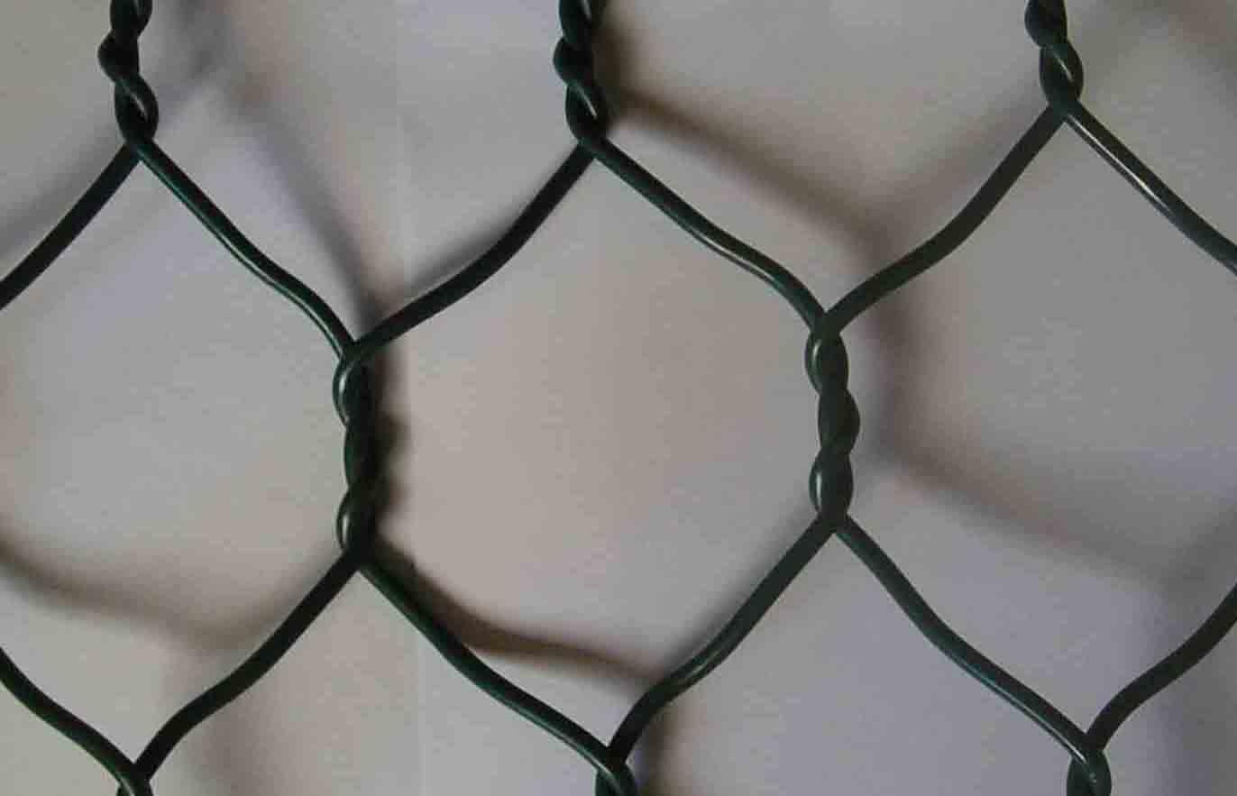 Gabion surface treatment