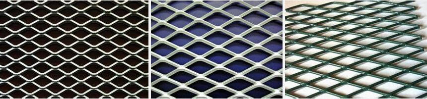 Expanded Metal Mesh Common Specifications Model