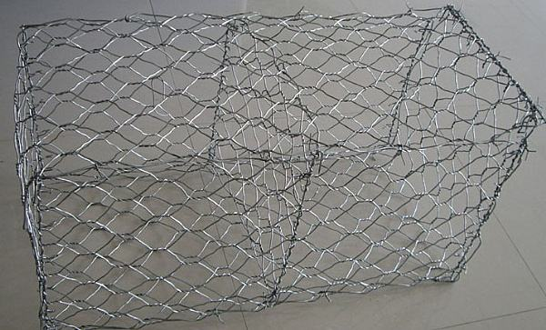 Gabion surface treatment