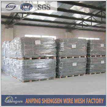 Hebei shengsen start a large number of production and sale of gabion mesh till the end of year